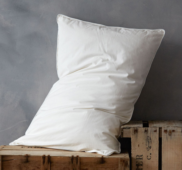 Wool and Silk Natural Filling Pillows