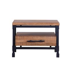 Wooden bedside tables