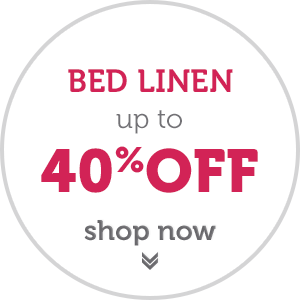 Easter Sale Now On - Up to 40% OFF Bed Linen