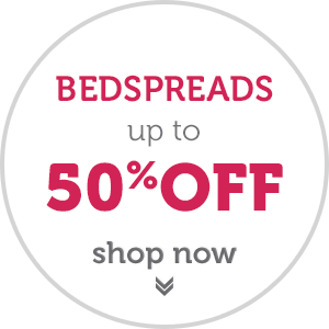 Easter Sale Now On - Up to 50% OFF Bedspreads