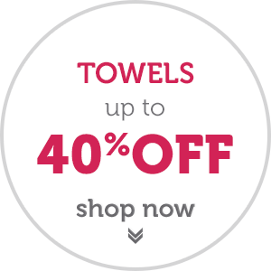 Easter Sale Now On - Up to 40% OFF Towels